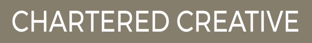 Chartered Creative - logo officiel Inversé