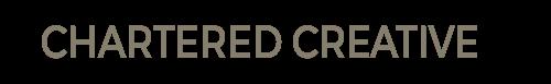 Chartered Creative - logo officiel